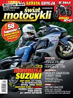 """Kwietniowy """"Świat Motocykli"""" z kuponami rabatowymi na akcesoria motocyklowe"""
