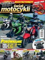 """""""Świat Motocykli"""" z wynikami plebiscytu Motocykl Roku 2013"""