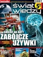"""okładka magazynu """"Świat Wiedzy"""""""