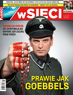 """Tomasz Lis jako nazista na okładce """"W sieci"""". 'Będę się domagał wysokiego odszkodowania'"""