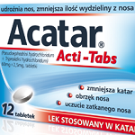 Acatar reklamowany w formie Acti Tabs (wideo)