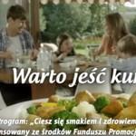Anna Przybylska z mężem promują mięso z kurczaka (wideo)
