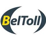 Białoruski system poboru opłat drogowych BelToll reklamowany na nośnikach Jet Line