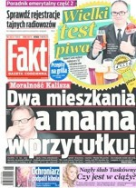 """Ryszard Kalisz pozwie """"Fakt"""" za """"mamę w przytułku"""". """"To jest podłość"""""""