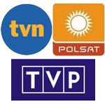 Serwisy telewizyjne: TVN i TVP na czwórkę, Polsat najsłabszy