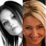 Hanna Krawczyńska i Agnieszka Lisowska-Kalicka