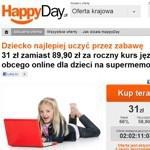 HappyDay.pl już działa - oferty ogólnopolskie i z 7 miast