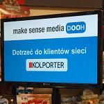 make sense media DOOH przejmuje obsługę ekranów w salonach Top-Press