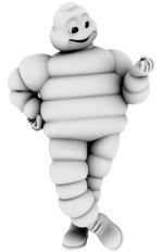 Ludzik Michelin reklamuje opony Primacy 3 (wideo)