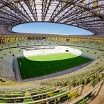 PGE Arena Gdańsk z monitorami Sharp