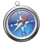 Safari w dół na urządzeniach mobilnych, w górę Opera Mini