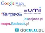 Mapy w polskim internecie najlepsze na Google