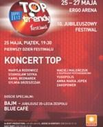 TOPtrendy 2012: jubileusz Bajmu, recital Blue Cafe