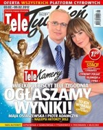 Telekamery 2012: najwięcej nagród dla TVP