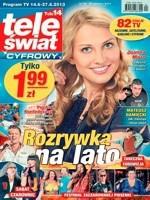 """Dwutygodniki telewizyjne straciły czytelników w 2013, liderem """"Tele Świat"""""""