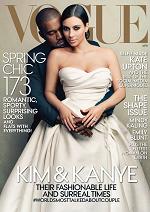 """Kim Kardashian na okładce """"Vogue'a"""". Anna Wintour: Kanye nie błagał mnie o to"""