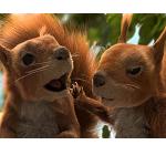 Impreza wiewiórek reklamuje pożyczkę bez wyrzeczeń w Banku BGŻ (wideo)