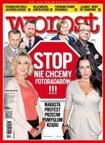 """Ludzie mediów krytykują okładkę """"Wprost"""" o fotoradarach. Beata Tadla: to nadużycie"""