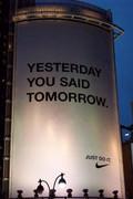 Nike: Yesterday