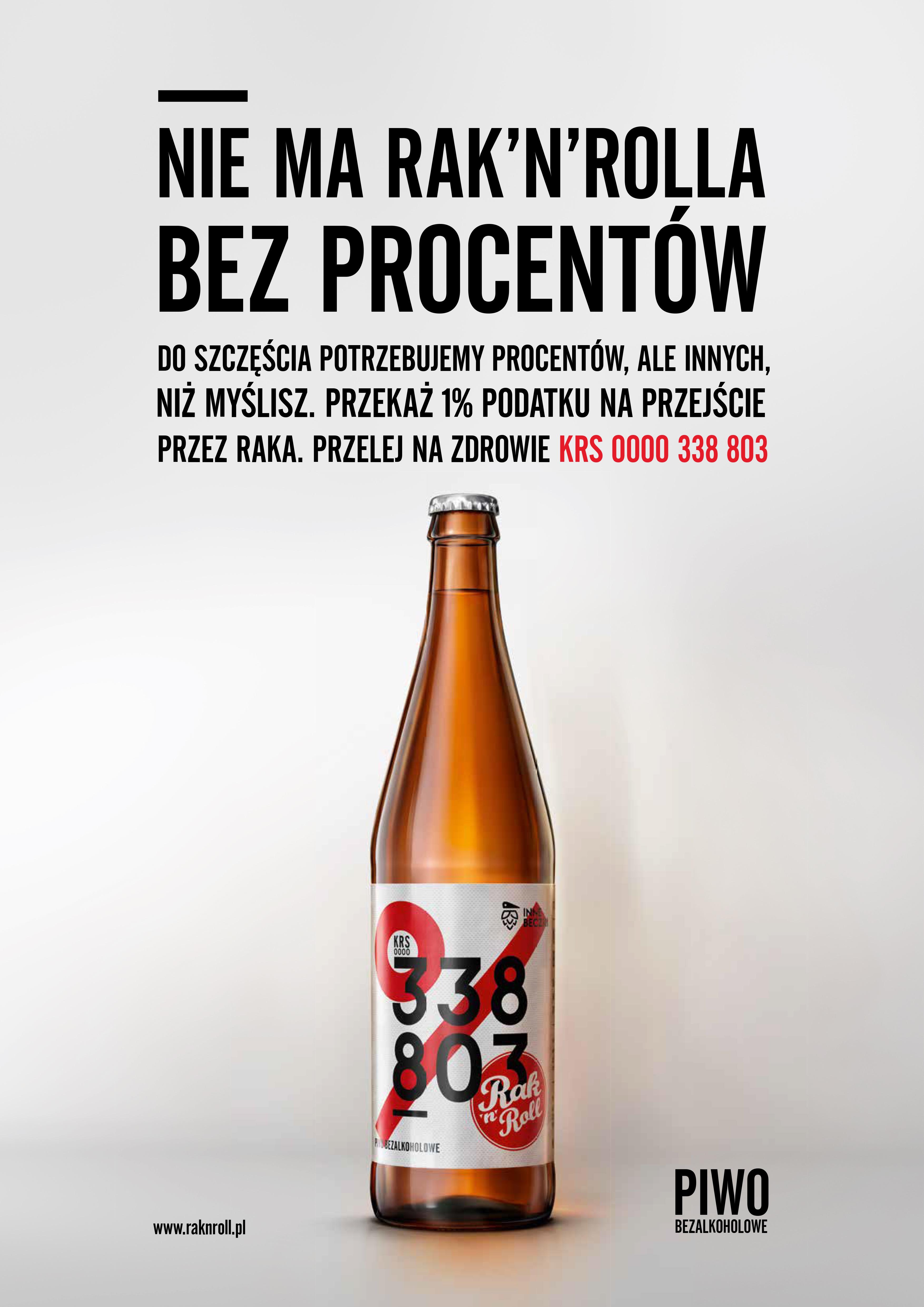 Fundacja Raknroll Piwem Bez Procentów Zachęca Do