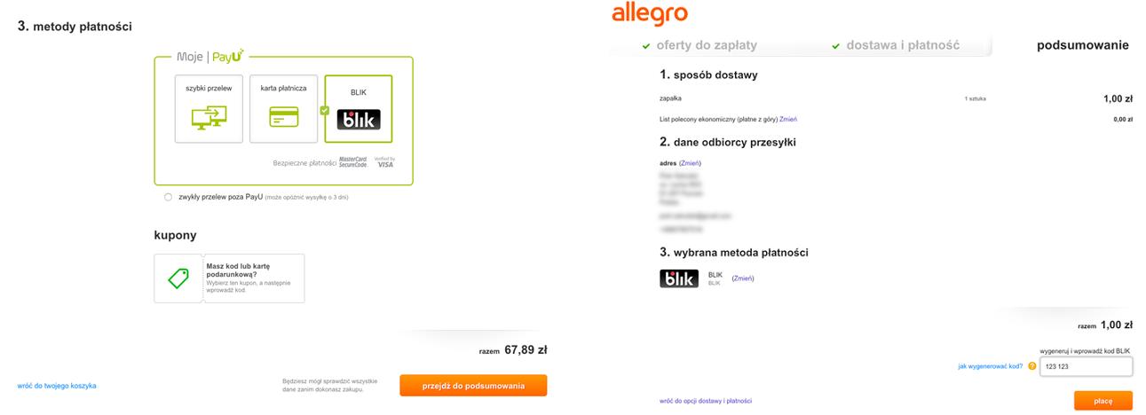 cef05a568cb669 Wdrożenie Blika na Allegro jest dla Polskiego Standardu Płatności  zakończeniem etapu budowania sieci akceptacji płatności w polskim  e-commerce. Sposób ...