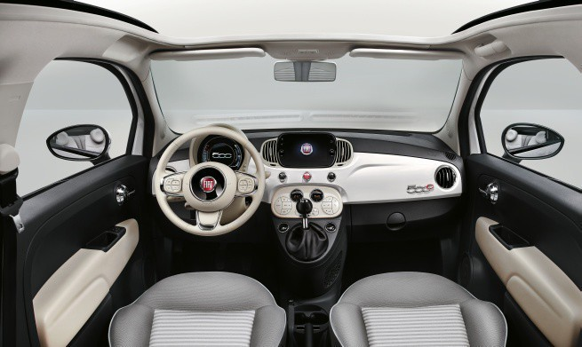 Ogromny Nowy Fiat 500 Collezione specyfikacja cena NG48
