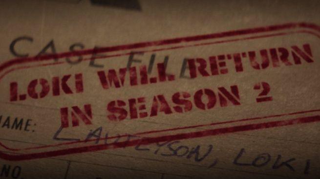 Kadr z finału serialu Loki zapowiadający sezon 2