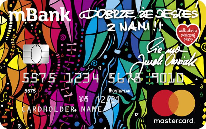 Mbank Podwaja Wplaty Na Wosp Limitowana Edycja Kart