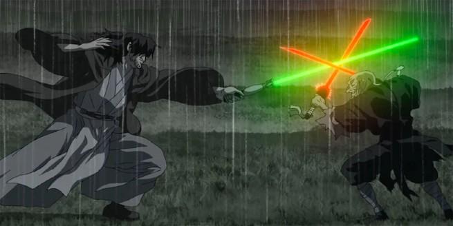 Kadr z serialu Star Wars Visions