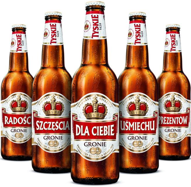 Tyskiego Najlepszego W Reklamach I Na Butelkach Piwa Tyskie Wideo