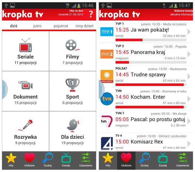 Kropka Tv I Kuchnia I Kropka Aplikacje Mobilne Od Pp