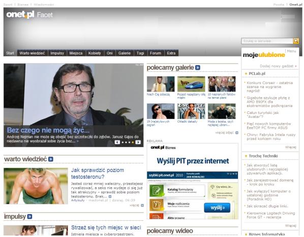 """8c745885e65dc Onet.pl pochodzi od jego partnerów mediowych takich jak """"Maleman"""""""