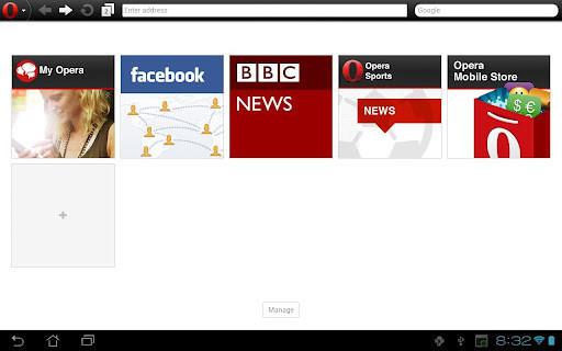 Opera Mobile w nowej wersji na Androida w Google Play