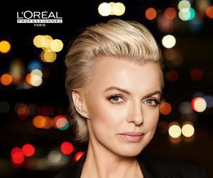 1cab910182876f Katarzyna Sokołowska w kampanii L'Oréal Professionnel