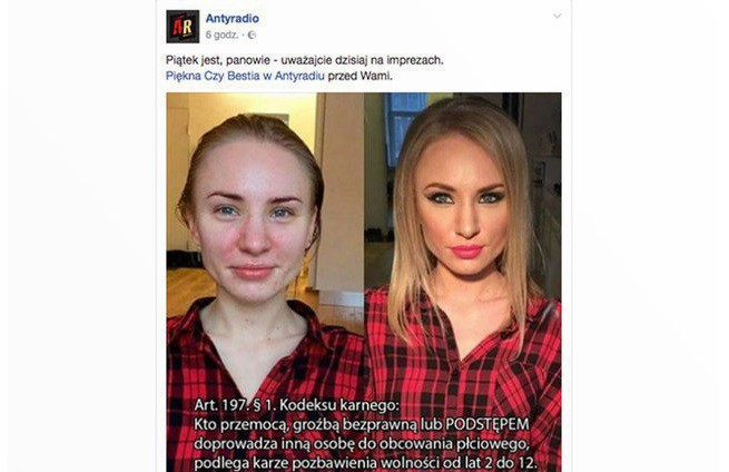 Antyradio Usunęło Z Facebooka Mem żartujący Z Gwałtów I Poprawiania