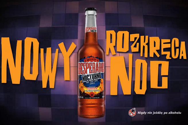 Piwo Desperados Nocturno W Reklamach Rozkreca Noc Wideo