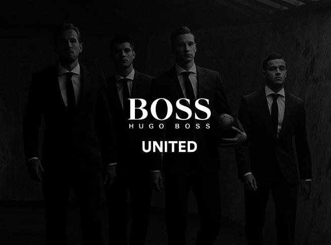 7531bf291ebe5 ... Philippe Coutinho, Julian Draxler i Alvaro Morata przebierają się w  szatni nie w stroje piłkarskie, tylko garnitury marki Hugo Boss i ubrani w  nie grają ...