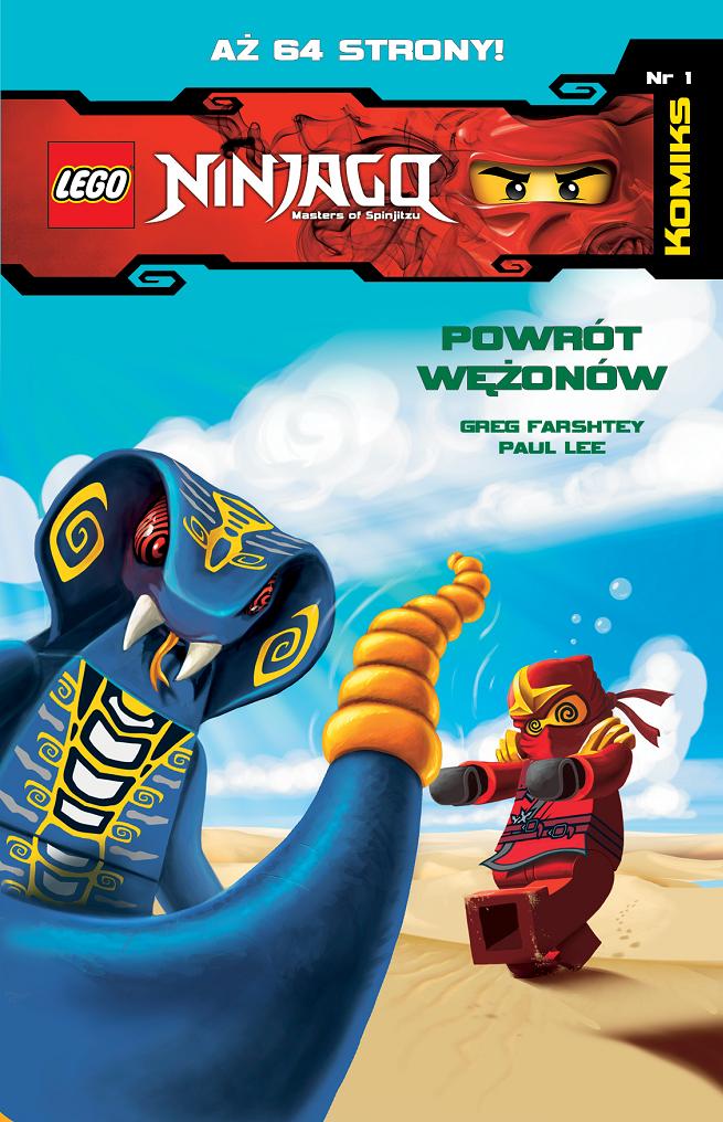 Lego Ninjago Komiks Nowa Seria Książek Media Service Zawada