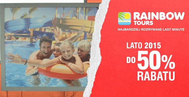 Rainbow Tours Reklamuje Najbardziej Rozrywane Last Minute Wideo