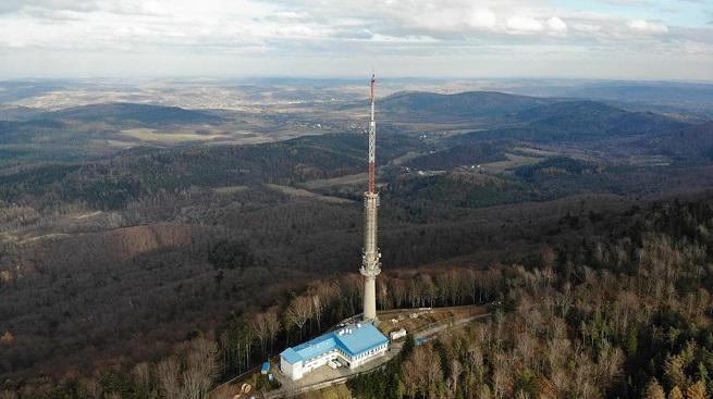 Nadajnik Rzeszów/Sucha Góra przygotowany na DVB-T2 i DAB+