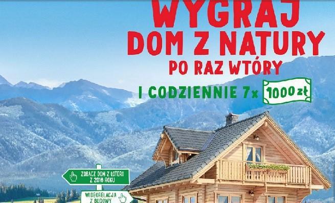 """Wspaniały Loteria Almette: """"Wygraj dom z natury po raz wtóry"""" KJ65"""