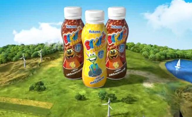 Zupełnie nowe Podróżujący superbohaterowie reklamują Bakuś Shake (wideo) GS64