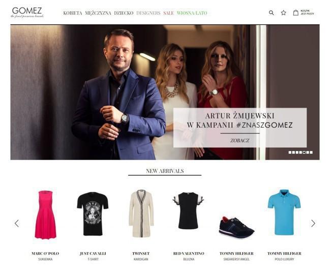 ce67a9b450fb5 Gomez.pl nowy klientem Aliganza Fashion Agency