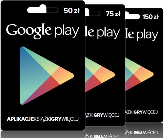Karty Podarunkowe Google Play Dostepne Juz W Polsce