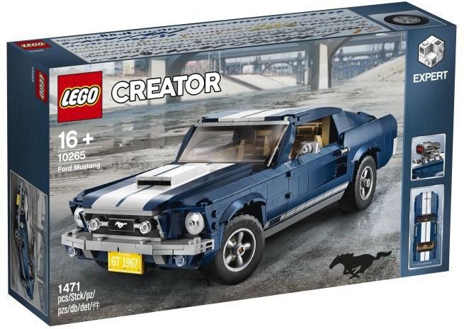 Lego Creator Expert Był Ford Mustang 1967 Fastback Jaka Cena Gdzie