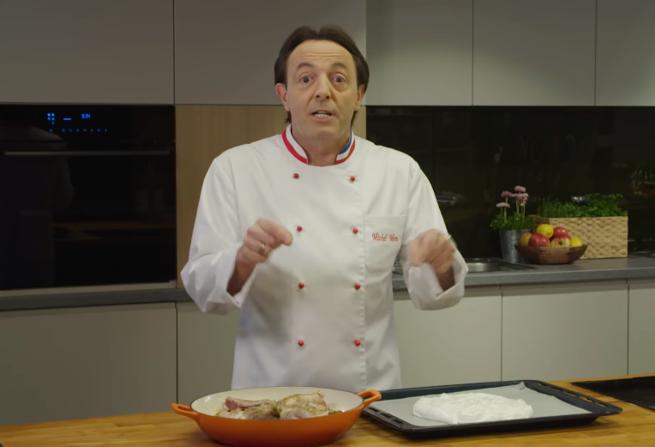 Michel Moran Przyrządza Mięso I Słodycze W Reklamie