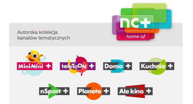 Nowe Logotypy Ale Kino Minimini Teletoon Kuchnia Domo Planete Nsport Zmienia Sie W Nsport