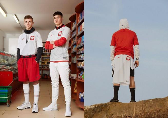 eb0d85d55 ... oficjalne stroje reprezentacji Polski, w których nasi piłkarze wystąpią  na tegorocznym Mundialu w Rosji. Koszulki przygotowała firma Nike.