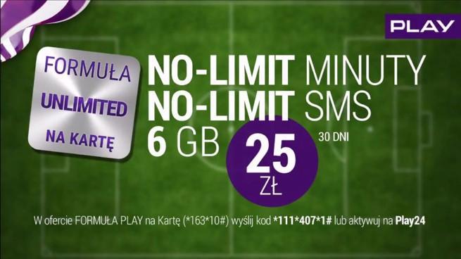 No Limit I 6 Gb Za 25 Zl Nowa Formula Unlimited Na Karte W Play