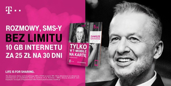 T Mobile Na Karte.T Mobile Polska Na Kartę Rozmowy Sms Y No Limit I 10 Gb Internetu